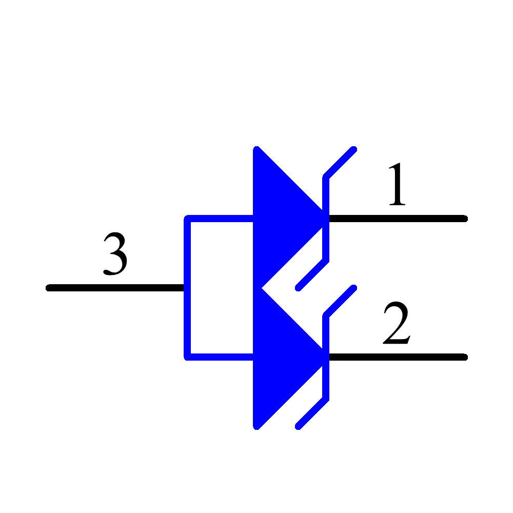 SZSM05T1G Symbol - ON Semiconductor