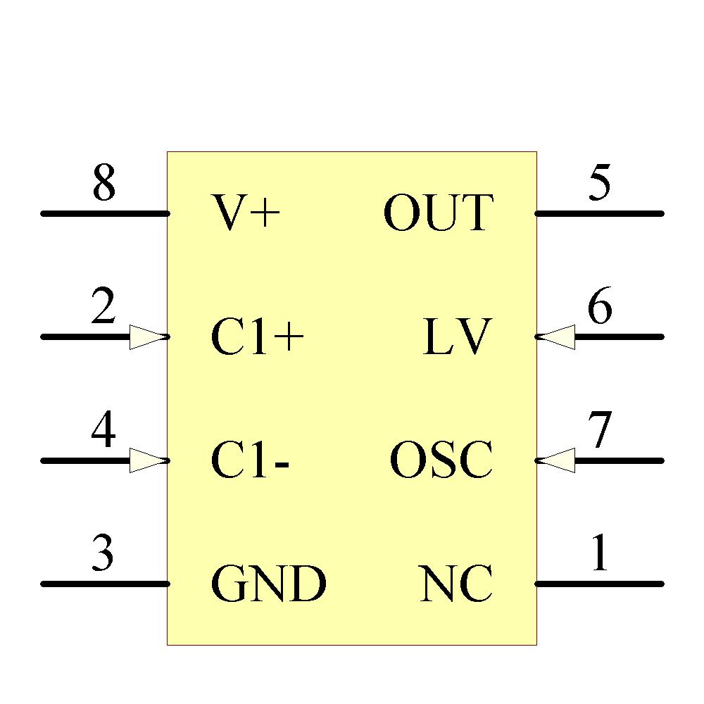 Lmc7660im IC REG swtchd Cap INV 8 SOIC