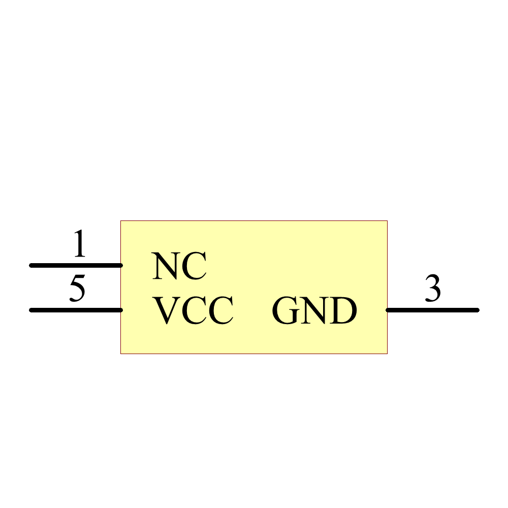 NC7S04M5X Symbol - ON Semiconductor / Fairchild