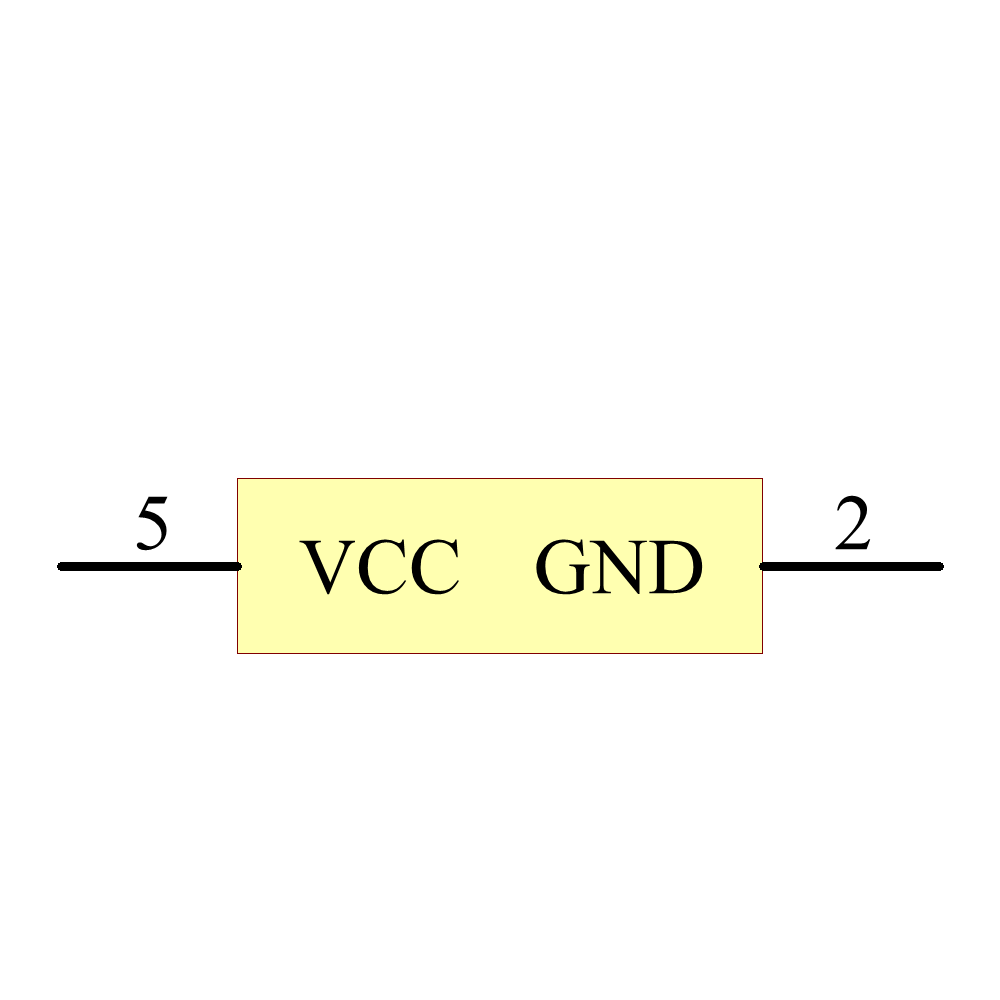 NC7WZ17P6X Symbol - ON Semiconductor / Fairchild