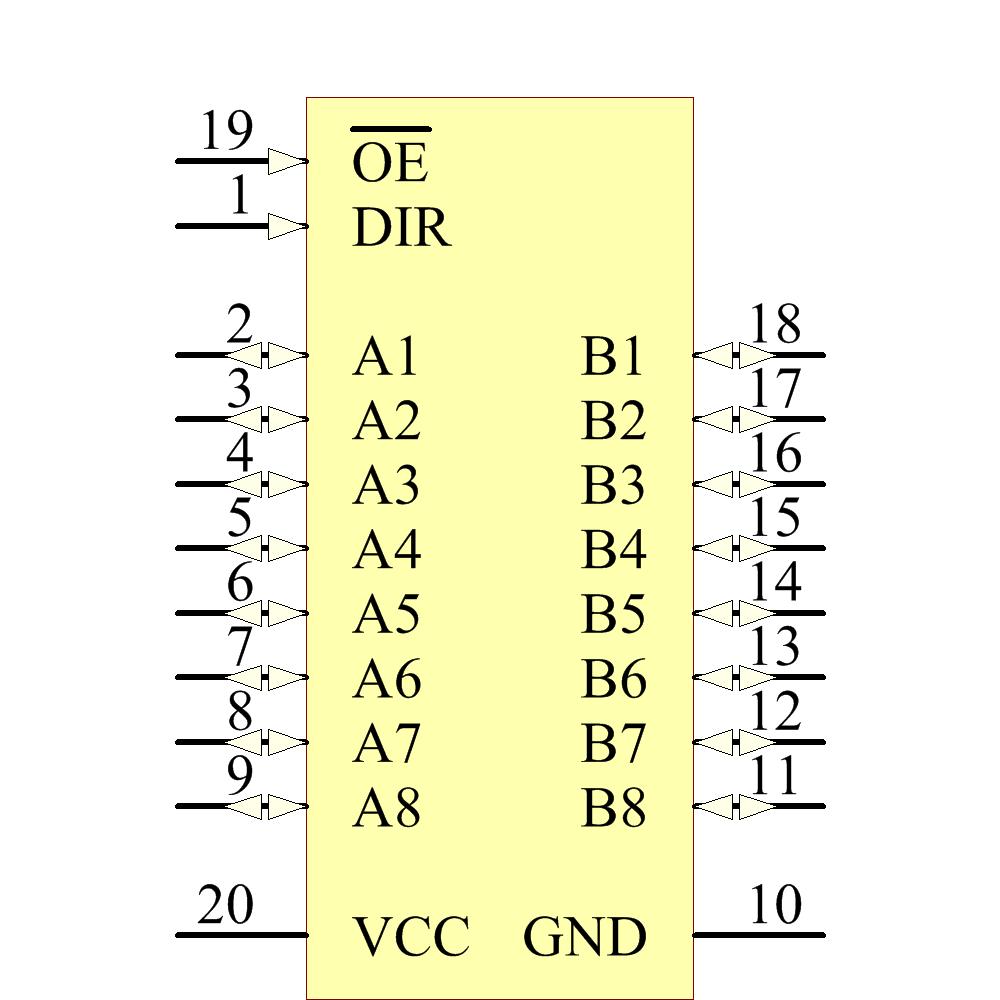 SN74HC245N Texas Instruments | Ciiva